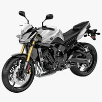 yamaha fz 8 3d max