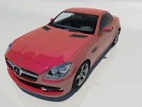 2013 mercedes benz slk 3d x