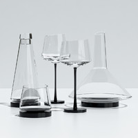3ds max glassware somelier kvetna