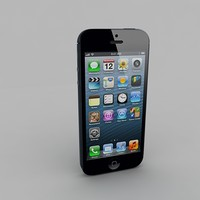 3d apple iphone 5