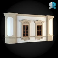 architectural modules 3d max