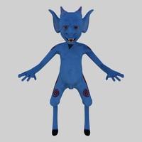 3d character shmig model