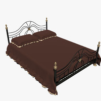forged bed 2v 3d model