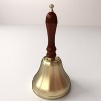 3d school bell