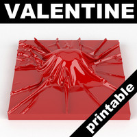 3ds max valentine heart