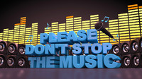 Do not stop music