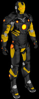 ironman comic mark 1 3d model