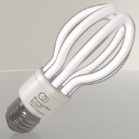 energy saving light bulb 3ds
