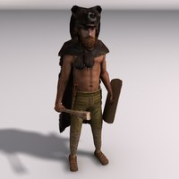 clothing bear 3d model