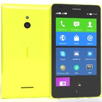 nokia xl yellow 3ds