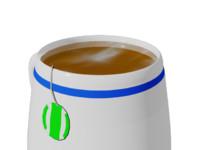 3d model tea cup