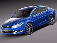 3d 2015 chrysler 200