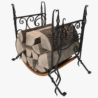 firewood storage rack max