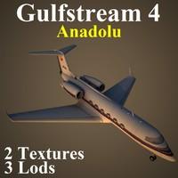 3d model gulfstream 4