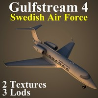 gulfstream 4 svf 3d model