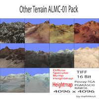 Other Terrain ALMC-01 Pack