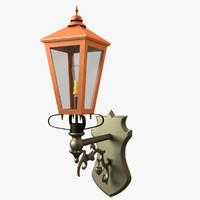 free victorian lantern 3d model