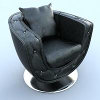 chair nieri fitzgerald 3d model