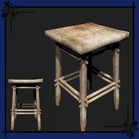 Fanatasy Style Table & Stool