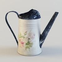 free watering pot 3d model