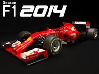 F1 Ferrari f14T 2014