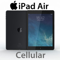 iPad Air Cellular Realistic