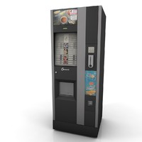 3d model of vending machine