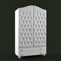 3d bambolina firenze wardrobe model