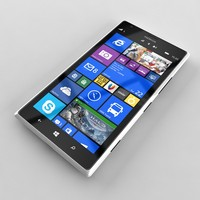 3ds nokia lumia 1520 white