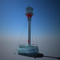 3ds london heathrow control tower
