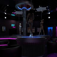 3d strip club