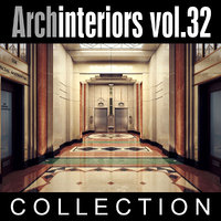 3d archinteriors vol 32 art deco model