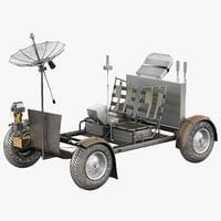 3d lunar rover