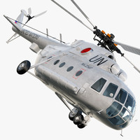3ds mi-8 helicopter
