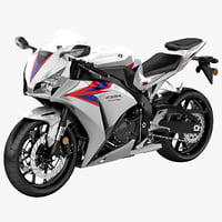 3ds max motorcycle honda cbr1000rr