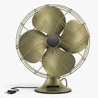 3d model fan