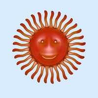 3ds max cartoon sun