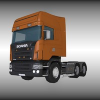 dxf scania truck
