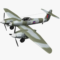 Westland Whirlwind British Fighter