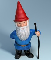 garden gnome 3d max