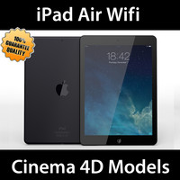 apple ipad air wifi 3d model