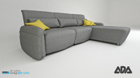 3d sofa navy ada model