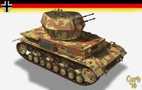 wwii tank 3d model
