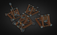 catapult kit 3d model