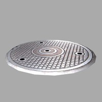 3ds max sewer lid