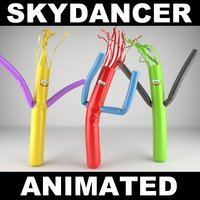 3d model skydancer realistic