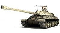 is-7 heavy tank soviet 3d model