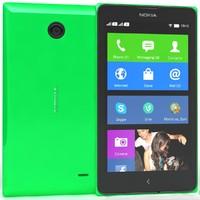 nokia x green 3d model