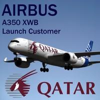 airbus a350 xwb qatar blend