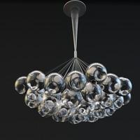 3d chandelier bocci model